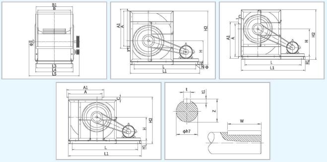 XFDT箱式离心通风机尺寸1.png